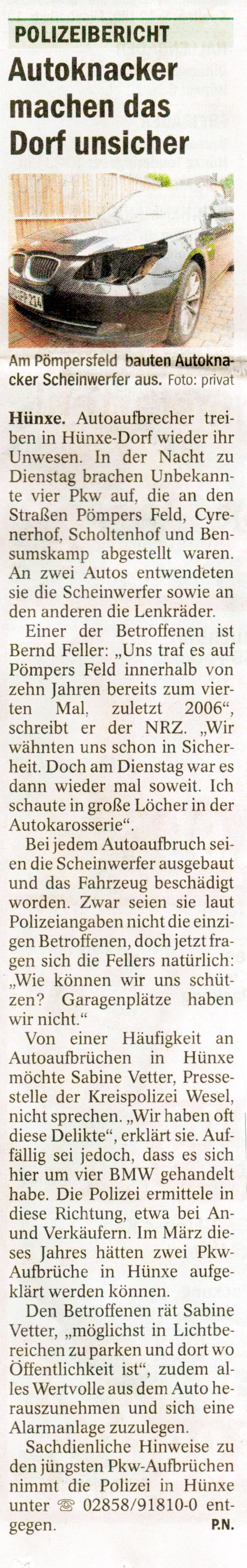 Autoaufbruch